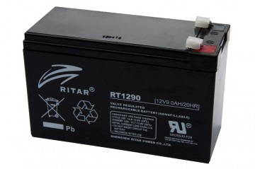 Ritar RT1290F2 AGM Batteri 12V 9AH