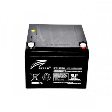 Ritar RT12280 AGM Batteri 12V 28AH