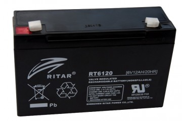 Ritar RT6120 AGM Batteri 6V 12AH