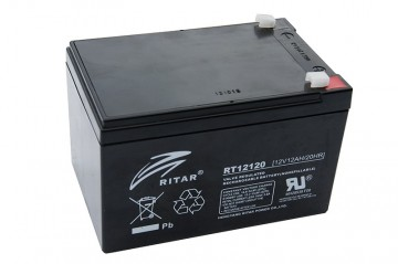 Ritar RT12120 AGM Batteri 12V 12AH