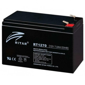 Ritar RT1270F1 AGM Batteri 12V 7AH
