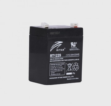 RITAR RT1229 AGM Batteri 12V 2,9AH